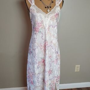 Lucie Ann II  lace and floral gown